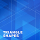 Abstract Background With Triangle Shapes - VideoHive Item for Sale