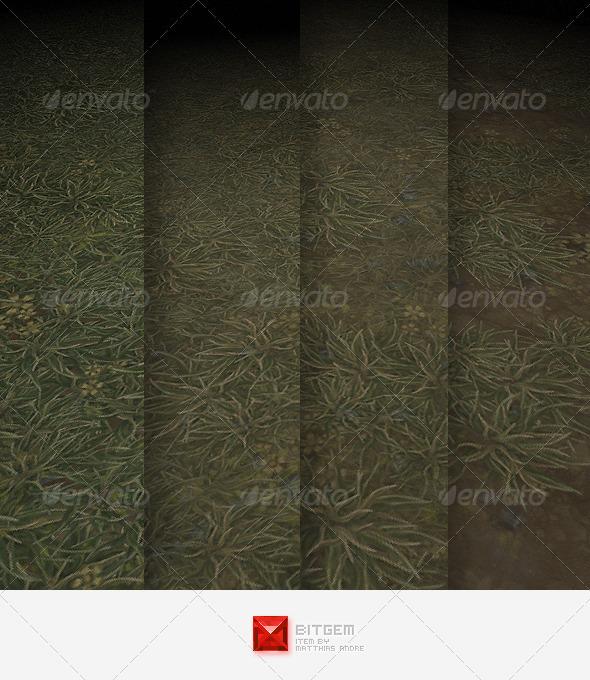 Grass Texture Tile 01 - 3DOcean Item for Sale