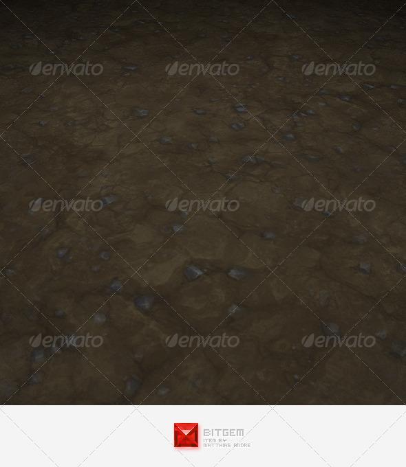 Dirt Texture Tile 01 - 3DOcean Item for Sale