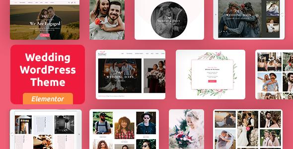 Incredible Woddingat - Wedding WordPress Theme