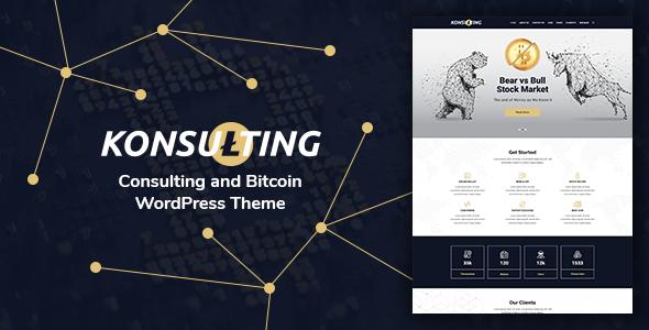 Wonderful Konsulting - Consulting & Bitcoin WordPress Theme
