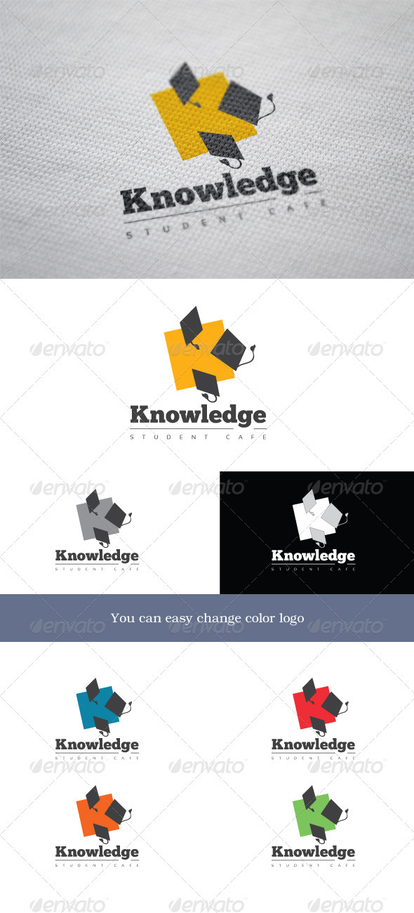 Knowledge - Abstract Logo Templates