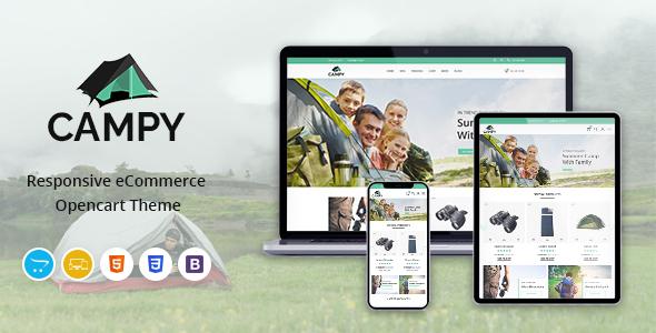 Campy - Responsive OpenCart Theme
