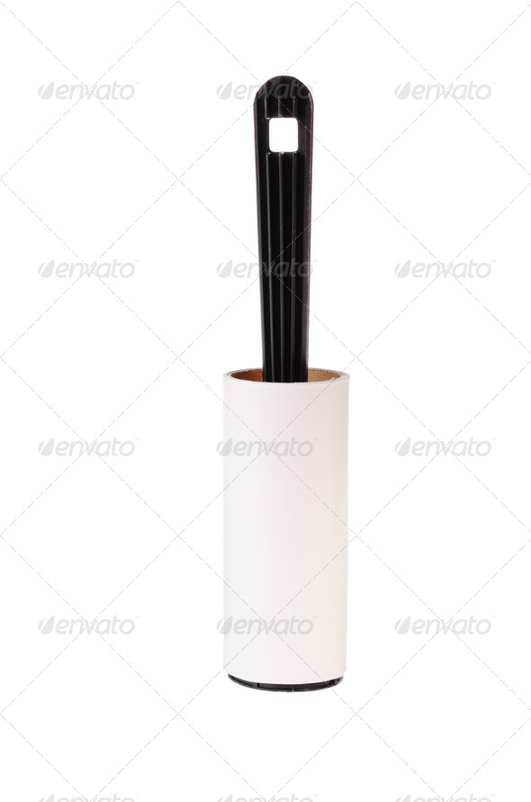 Used adhesive roller - Stock Photo - Images