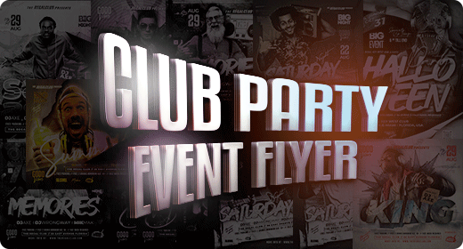 Club Party Event Flyer