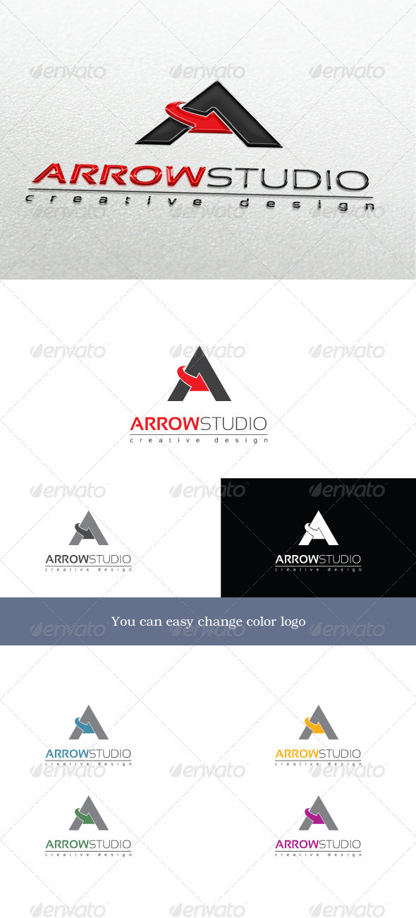 ArrowStudio - Letters Logo Templates
