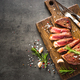 Grilled beef steak with herbs - PhotoDune Item for Sale