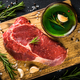 Raw beef steak with herbs - PhotoDune Item for Sale