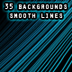 Smooth Lines Background Pack - GraphicRiver Item for Sale