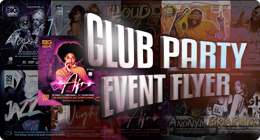 Club Event Party Flyer