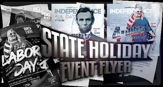 State Holiday Event Flyer