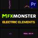 Electric Elements | Premiere Pro MOGRT - VideoHive Item for Sale