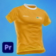 T-shirt - 5 Scenes Mockup Template - Animated Mockup PREMIERE - VideoHive Item for Sale