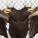 Imperial Eagle - Double-Headed - Flying Transition - I - VideoHive Item for Sale