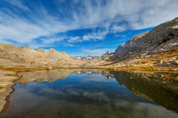 Wind river range - Stock Photo - Images