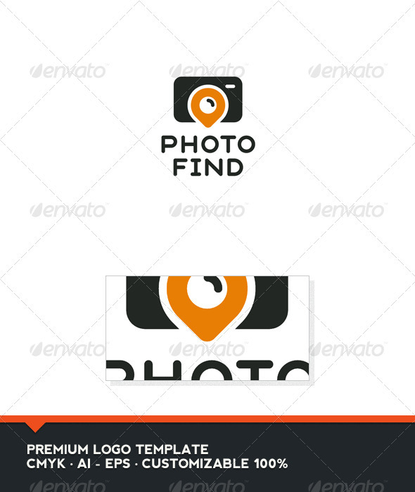 Photo Find Logo Template - Objects Logo Templates