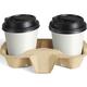 Paper Coffee Cups in Takeaway Holder - PhotoDune Item for Sale