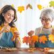 Women doing autumn decor - PhotoDune Item for Sale