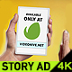 Phone Tablet Social Story Content Ad - VideoHive Item for Sale