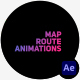 Map Route Animations - VideoHive Item for Sale