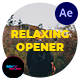 Relaxing Opener - VideoHive Item for Sale