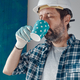 Construction engineer on a morning coffee break - PhotoDune Item for Sale
