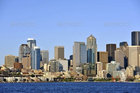 Seattle, WA, USA - Stock Photo - Images