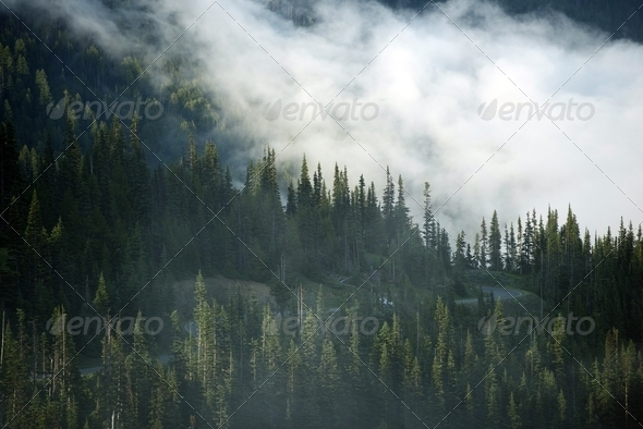 Mountain Clouds - Stock Photo - Images