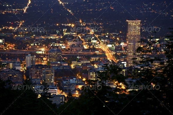 Portland Oregon USA - Stock Photo - Images