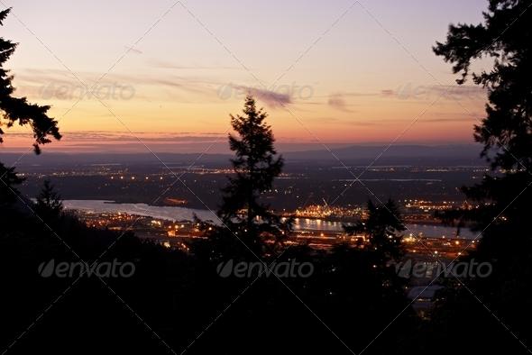 Portland Oregon North-West - Stock Photo - Images