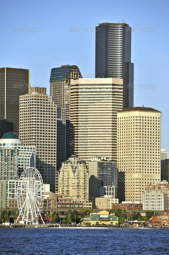 City of Seattle - Stock Photo - Images