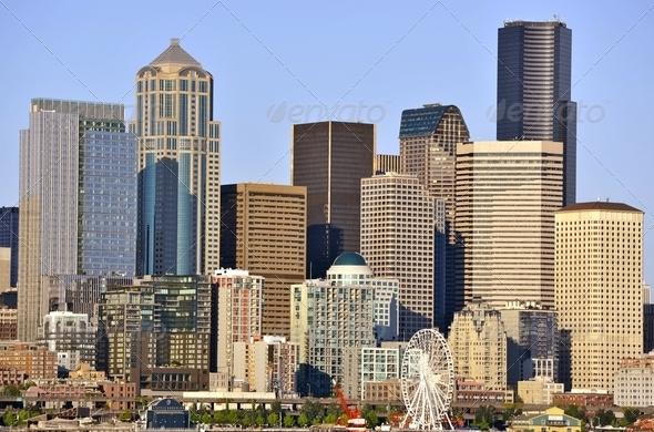 Seattle Washington - Stock Photo - Images