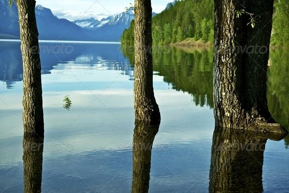 Lake McDonald - Stock Photo - Images
