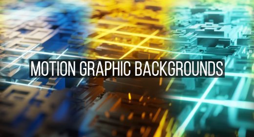 Motion Graphic Backgrounds