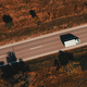 Lorry truck on the road, top down drone photography - PhotoDune Item for Sale