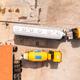 Aerial view of two trucks in maintenance repair shop - PhotoDune Item for Sale