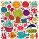Vector set of summer symbols - GraphicRiver Item for Sale