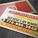 Funny Retro Style Business Card - GraphicRiver Item for Sale