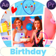 Happy Birthday Slideshow 2 | MOGRT - VideoHive Item for Sale