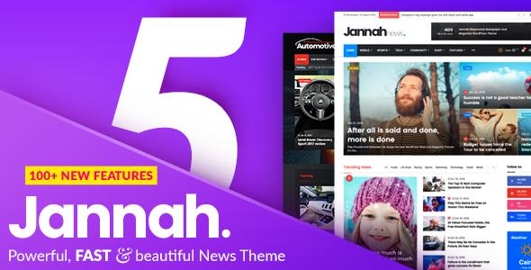 Jannah - Newspaper Magazine News BuddyPress AMP Nulled