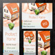 Insurance Banner Set - GraphicRiver Item for Sale