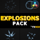 Hand Drawn Explosion Elements And Transitions | DaVinci Resolve - VideoHive Item for Sale