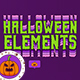 Halloween Elements - VideoHive Item for Sale