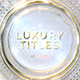 Luxury Titles - VideoHive Item for Sale
