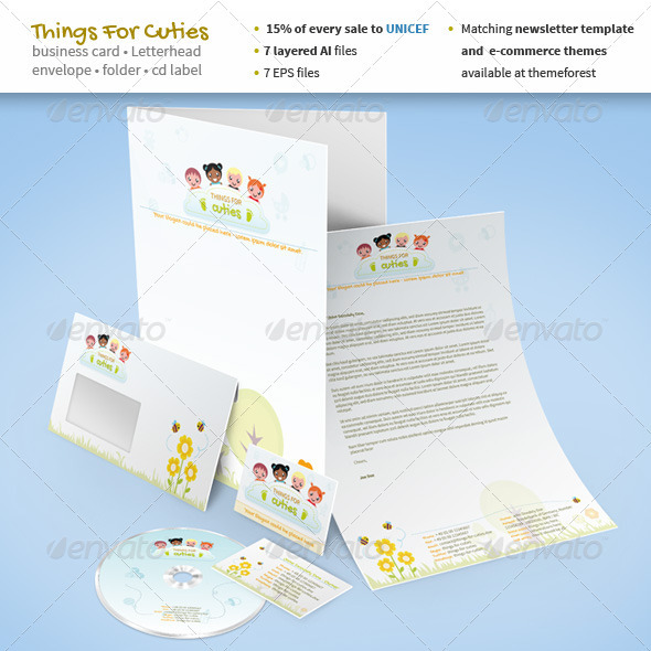 things for cuties stationery for baby related stationery print templates