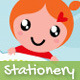 Things For Cuties - Stationery for Baby Related - GraphicRiver Item for Sale
