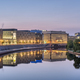 Modern office buildings at the river Spree in Berlin at dawn - PhotoDune Item for Sale