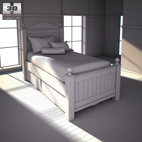 Ashley Jaidyn Poster Bedroom Set by humster3d | 3DOcean
