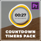Countdown Timers Pack | Premiere Pro - VideoHive Item for Sale