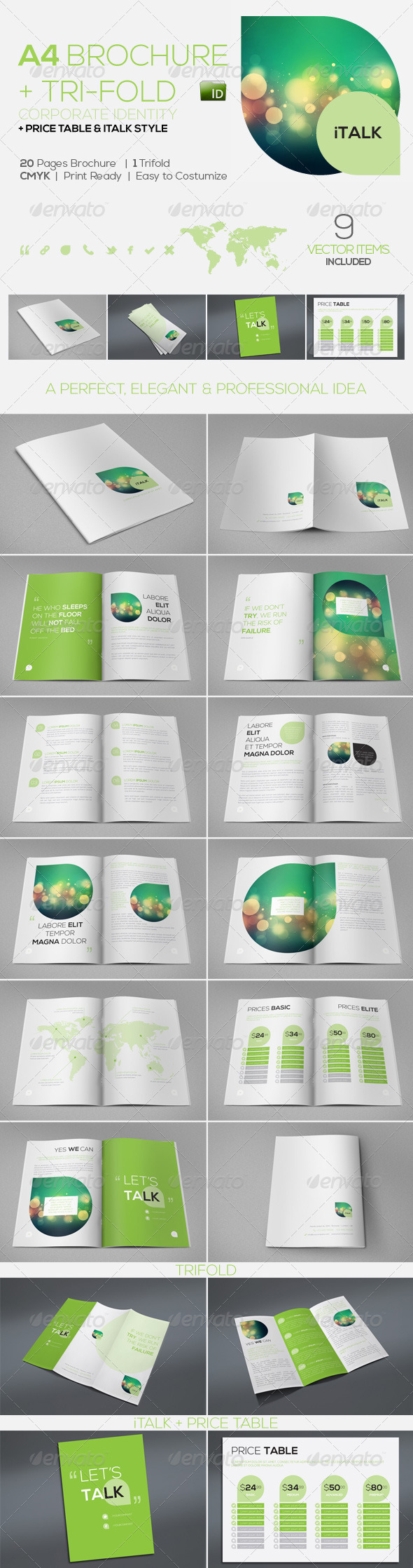 iTalk Elegant Corporate Identity | Brochure +++ - Corporate Brochures